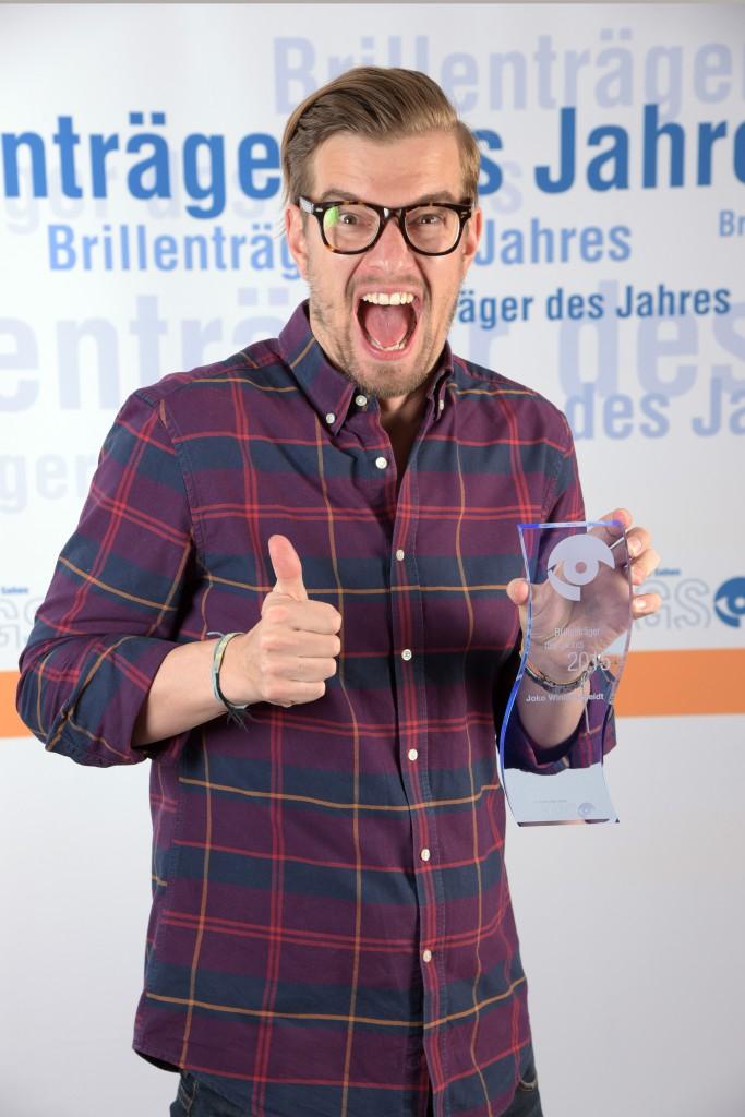 KGS, Brillenträger des Jahres 2015, Joko Winterscheidt.